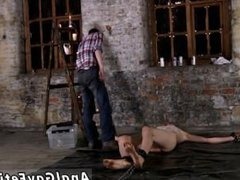 Nude boys vidz with gay  super sex feeling first time Chained to the warehouse floor