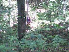 Forest voyeur vidz jerking off  super #15