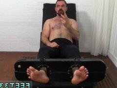 Gay male vidz porn star  super erections Dolan Wolf Jerked & Tickled