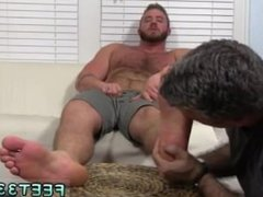 Gay porn vidz movies of  super dick on plate Aaron Bruiser Lets Me Worship His Big