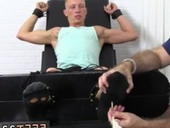 Young gay vidz porn toons  super Cristian Tickled In The Tickle Chair