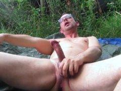 Outdoor Anal vidz and Pissing  super masturbation