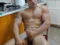 muscle guy vidz cam show  super cum