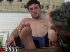 Hairy legs vidz boy wank  super movies gay Logan's Feet & Socks Worshiped