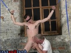 Gay man vidz and boy  super masturbation With his soft balls tugged and his schlong