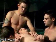Free gay vidz porn video  super emo twinks Jacuzzi Piss Four-Way Boys
