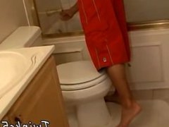 Xxx young vidz gay cock  super movies In The Bathroom With Boomer
