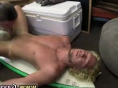 Blowjob gay vidz sex movie  super full length Blonde muscle surfer guy needs cash