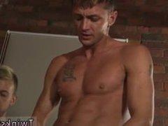Asia gay vidz gangbang James  super Takes His Cum Shower!