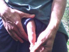 Outdoor foreskin vidz play #2