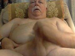 chubby daddy vidz with beautiful  super cock cum