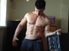 John Flex vidz His Big  super Arms 4