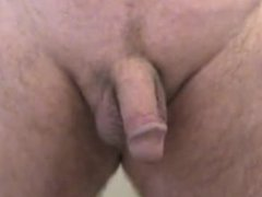 Amateur Mature vidz Daddy Shaves  super Pubic Area and Jerks Off
