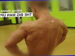 Handsome Bodybuilder vidz Posing