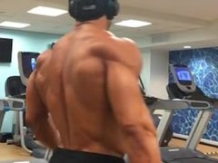 Post contest vidz Bodybuilder posing