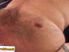 Chubby bear vidz rimmed and  super fucked in ass