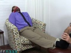 Eating young vidz boys feet  super gay first time Chase LaChance Tied Up, Gagged &