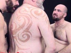 Raw chubby vidz bears threesome