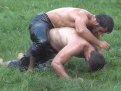 Turkish Oil vidz wrestling