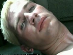 Blonde Twink vidz Jerks Off  super At The Back Of His Car
