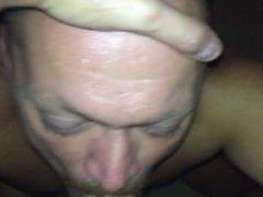 Me sucking vidz Dan's cock.  super More vids to cum.