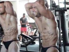 Gym posing vidz 1