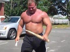 Strongman Snaps vidz Baseball Bat  super like toothpick