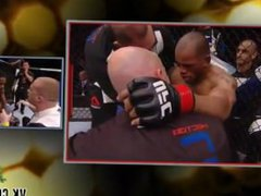 Lanky Neil vidz Magny takes  super down and defeats muscle man Hector Lombard