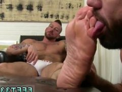 Bangkok gay vidz twink foot  super fetish full length Hugh Hunter Worshiped Until He
