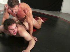 Muscle Dad vidz Matt Thrasher  super Throat Fucks Morgan Cruise