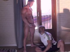 Hidden cam vidz blowing hunk  super cum in mouth