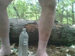 gay anal vidz giant bottle  super insertion in forest