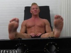 Jacking off vidz sucking toes  super gay full length Johnny Gets Tickled Naked