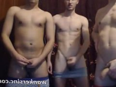 Three horny vidz boys on  super webcamshow