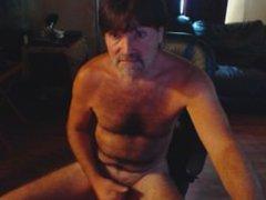 Redneck Le'roy vidz Porn Watching  super Stroking Cumshot Over shoulder