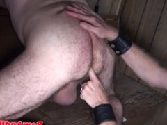 Polar bear vidz anal fingered  super and rimmed in cabin