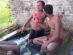 Indian guys vidz in wet  super underwear!!