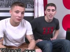 Amateur straight vidz guys cum  super on axe gay These two only swap a few kisses