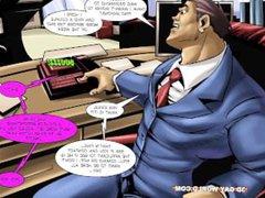 Flamboyant Four vidz Gay Superhero  super Animated Comics
