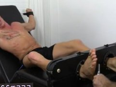 Free film vidz very long  super cock homo gay sex Cristian Tickled In The Tickle Chair