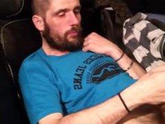 SMELLYBIKER - vidz bearded biker  super stinky cock phimosis wank and cum