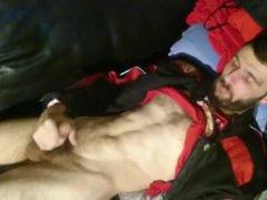 SMELLYBIKER - vidz bearded biker  super phimosis wank