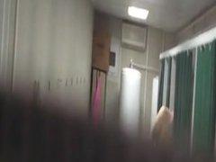 Spy Cam_Marine vidz caught naked  super in the barracks showers