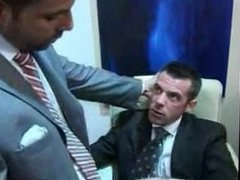 Cumming on vidz tie in  super the office