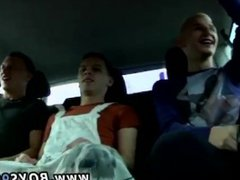 Gay twin vidz porn clips  super The men tag squad him in the back seat, spitroast