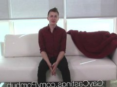 GayCastings - vidz Casting Agent  super is Scottie McWilliams First Big Cock