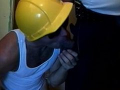 Construction Workers vidz and Cop  super get great Gangbang