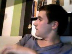 British Guy vidz Wanking on  super Cam