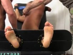 Videos of vidz straight guys  super treating gay guys as their socked foot slaves