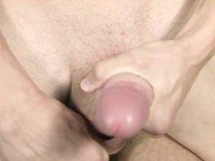 Two big vidz dicks in  super bareback action, cum swallowing
